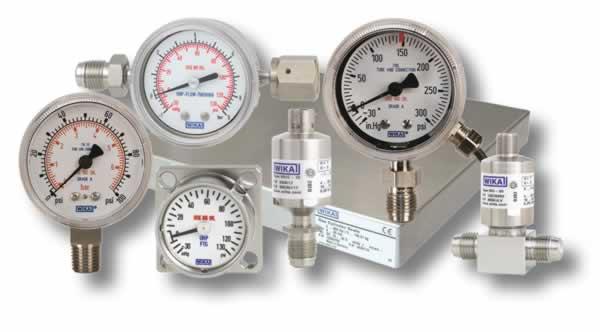 Gauges & Sensors - Fluid Controls