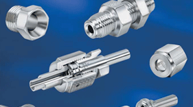 Face seal buttweld fittings from Parker Veriflo