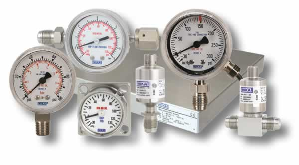 Gauges & Sensors - Fluid Controls