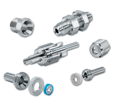 Parker face seal fittings