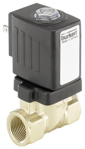 <alt = Bürkert Type 6213 Servo-assisted 2/2 way diaphragm valve>