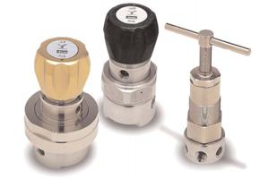 Introducing our complete range of pressure regulators