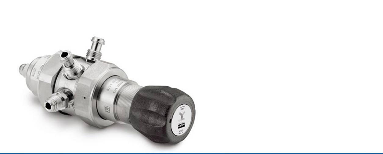 Pressure regulators from Fluid Controls Ltd