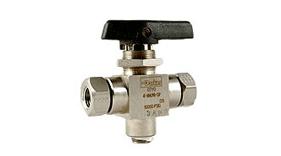 High pressure ball valves from Parker